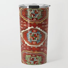 Bergama West Anatolian Village Rug Print Travel Mug