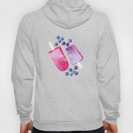 Blueberry Ice Cream Popsicles Hoody