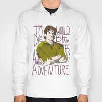 robin williams Hoodies featuring Robin Williams Hook Peter Pan Quote  by kdwdesigns
