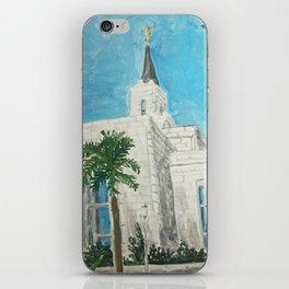 San Salvador El Salvador LDS Temple iPhone Skin