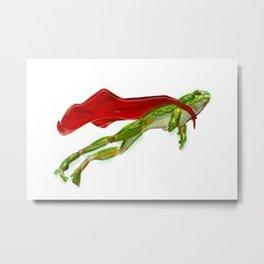 Super Frog Metal Print