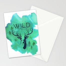 Wild deer Stationery Cards
