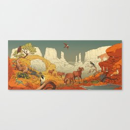 National Parks: Arches Canvas Print