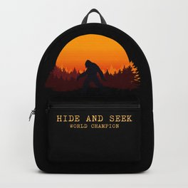 Bigfoot - Hide and Seek World Champion Backpack