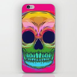 skull colors  iPhone Skin