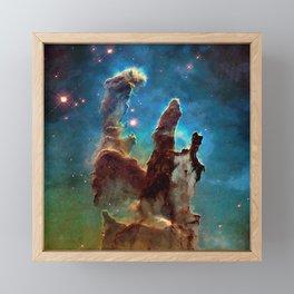 Eagle Nebula's Pillars Framed Mini Art Print