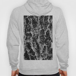 Lava cascade in black and white Hoody