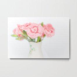 Pink Carnations 2 Metal Print
