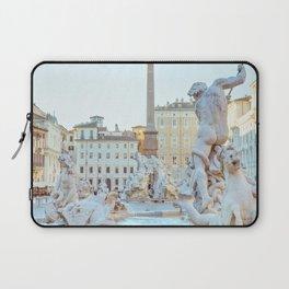 Piazza Navona - Rome Italy Photography Laptop Sleeve
