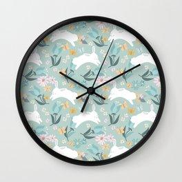 Hoppy Spring! Wall Clock
