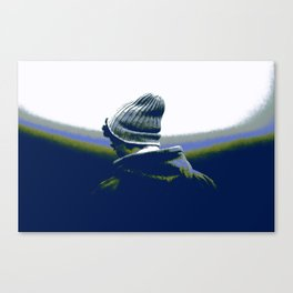 Thoughful youth 2 Canvas Print