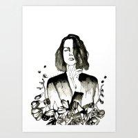 Encre de Chine Art Print