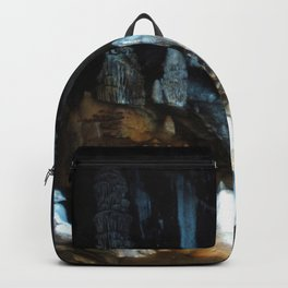 Watercolor Rock, Lechuguilla Cave 07, New Mexico, Pearlsian Majesty Backpack