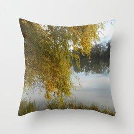 Ode aux Saisons I Throw Pillow