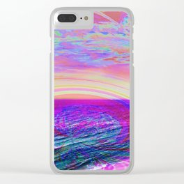 Have a nice trip! Clear iPhone Case