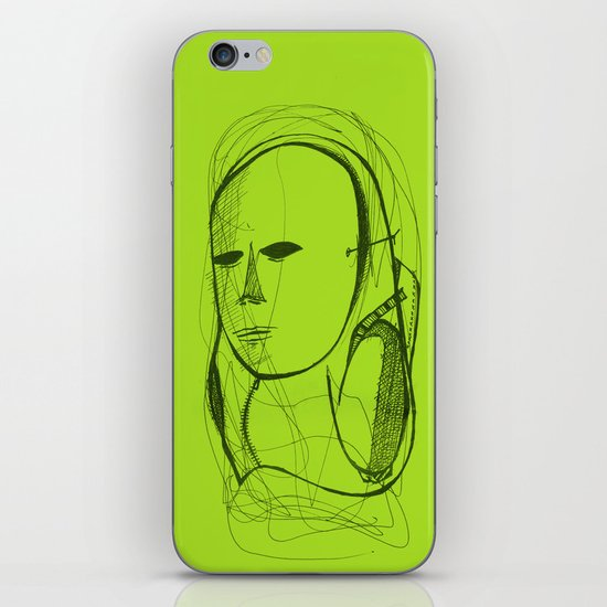 Mased iPhone & iPod Skin