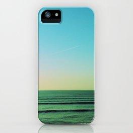 Winter blues iPhone Case