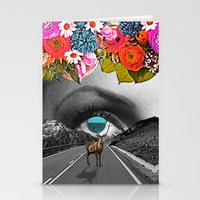 trip Stationery Cards featuring Trip by Pame Pinto Rojas