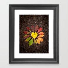Leaf Love No.3 Framed Art Print