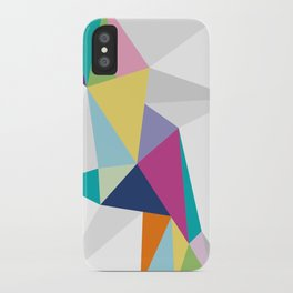Triangle Brights iPhone Case