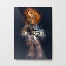 ymir attack on titan Metal Print