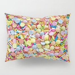 Rainbow Candy Sprinkles Art Pillow Sham