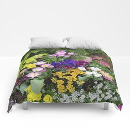 Floral Spectacular - Spring Flower Show Comforters