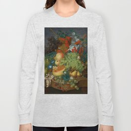"Jan van Os  ""Fruit still life with a mouse on a ledge"" Long Sleeve T-shirt"