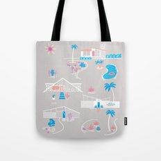 Desert Mid-Century Modern Tote Bag