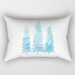 Tahoe Trees  Rectangular Pillow