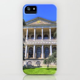 Dolmabahce Palace Istanbul iPhone Case