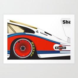 Martini Racing 935 Art Print
