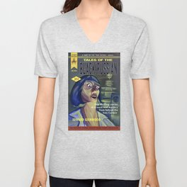 """""""Tales of the Black Russian"""" Book Cover Unisex V-Neck"""