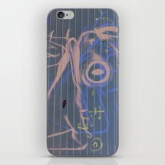 Sicilian Street Frog iPhone & iPod Skin
