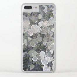 Buzy, Buzy Lichen Clear iPhone Case