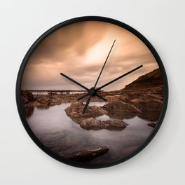 Mumbles pier and lifeboat station Wall Clock