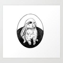 Bunny #3 Art Print