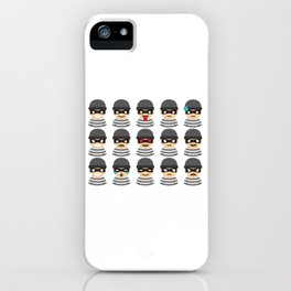 Robber Mood iPhone Case