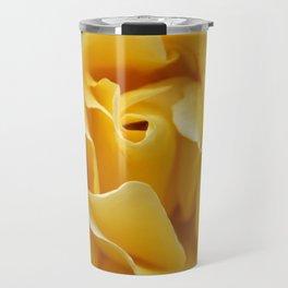 Single Yellow Rose Travel Mug