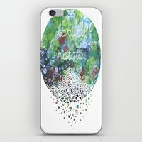 hakuna iPhone & iPod Skins featuring Hakuna Matata by Maria Sh