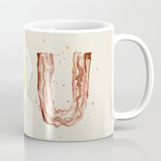 Bacon and Egg I love You Breakfast Food I heart Mug