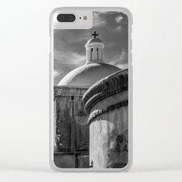 Tumacacori Franciscan Mission Church Clear iPhone Case