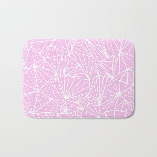 Ab Fan Pink Bath Mat