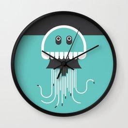 Jubilant Jellyfish Wall Clock
