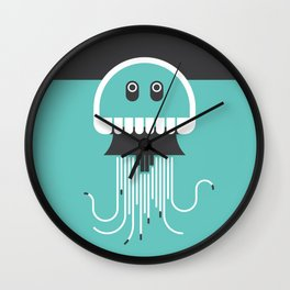 Jubilant Jellyfish Wall Clock
