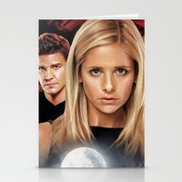 buffy Stationery Cards featuring Buffy The Vampire Slayer  by SB Art Productions