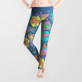 Nineties Dinosaur Pattern Leggings