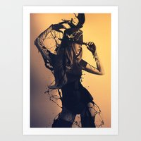 Beauty Reverie Art Print