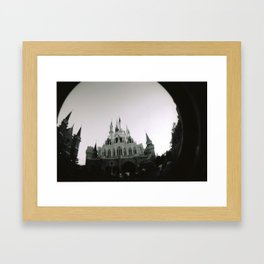 Enchanted Castle Framed Art Print