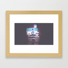 Instamatic Love Framed Art Print